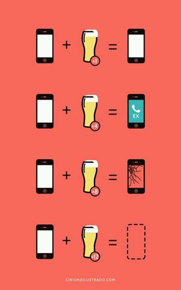 Alcohol + Móvil