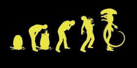 Alien evolution