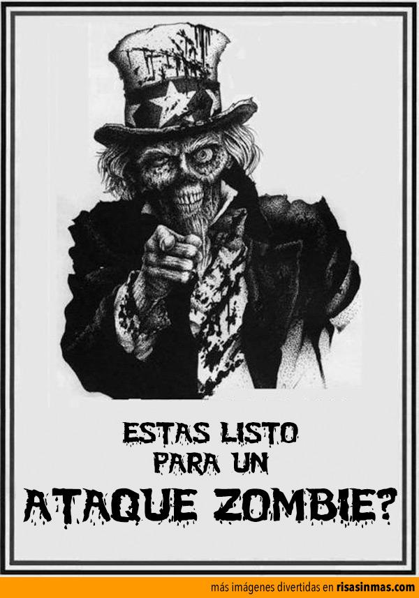 ¿Esstás listo para un ataque zombie?