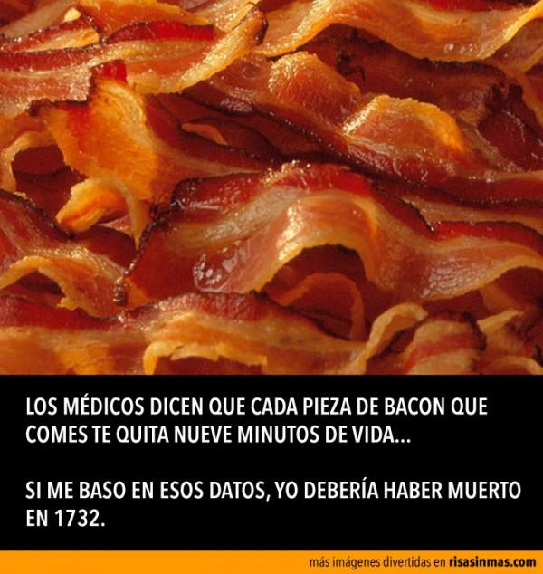 Los médicos y el bacon
