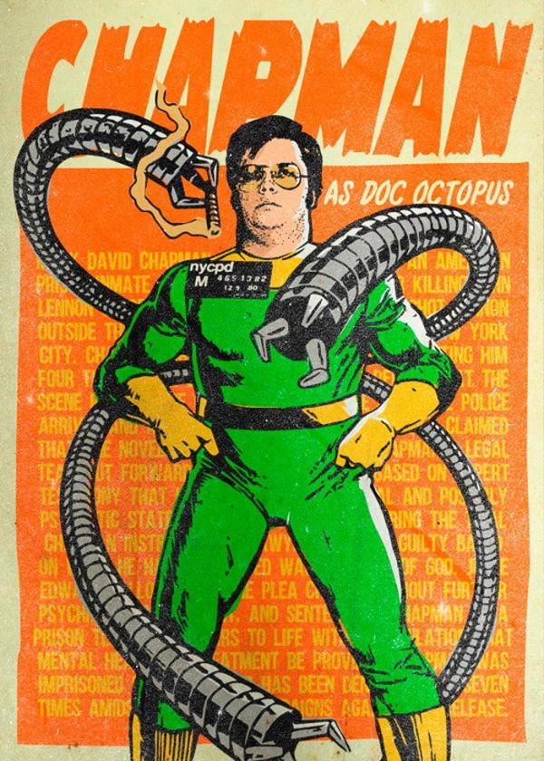 Chapman como Doctor Octopus
