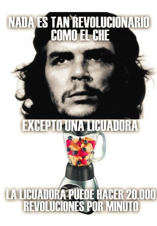 Nada es tan revolucionario como el Che