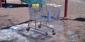 Columpio carrito de compra