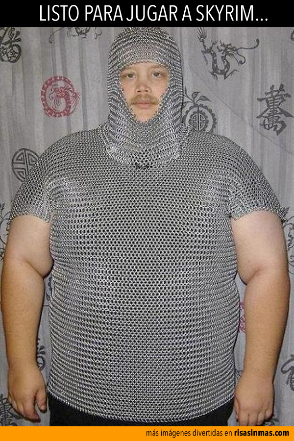 Listo para jugar a Skyrim