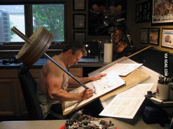 Un dibujante vasco