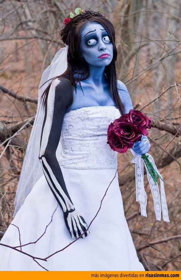 Disfraces de Halloween: Novia cadáver