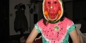 Disfraces horrorosos: Sandía