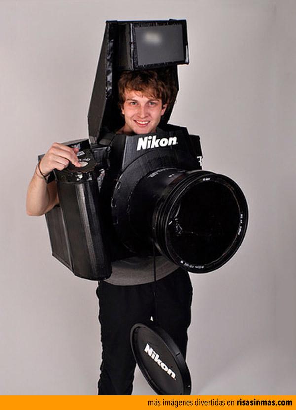 Disfraz de cámara digital