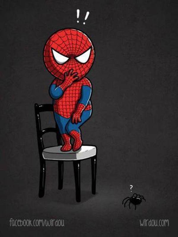 ¿A qué tiene miedo Spiderman?