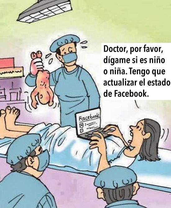 Doctor, tengo que actualizar Facebook