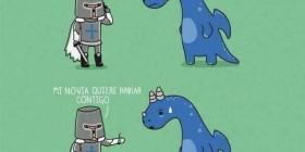 Estoy matando un dragón