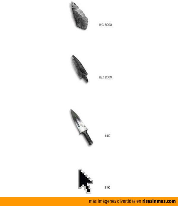 Evolución de las armas