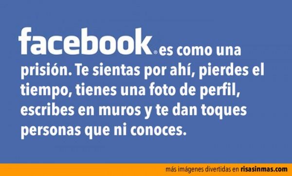 Facebook es como una prisión