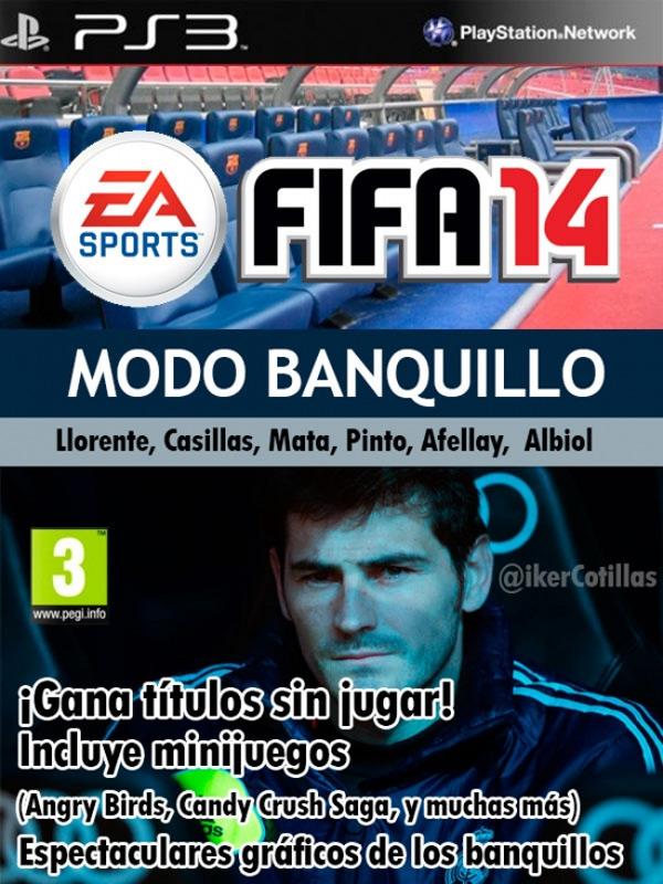 FIFA 14 modo banquillo