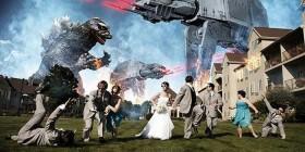 Foto de boda nivel friki extremo