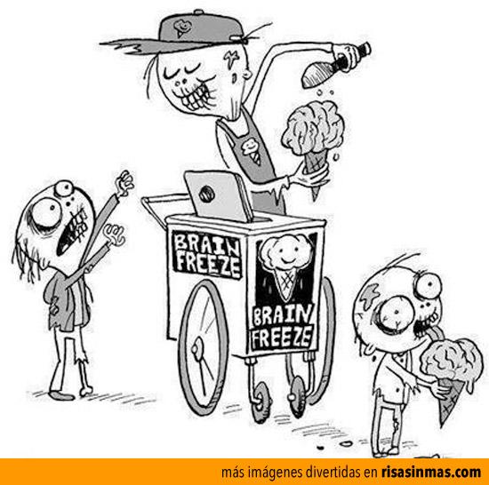 Al rico helado de cerebro