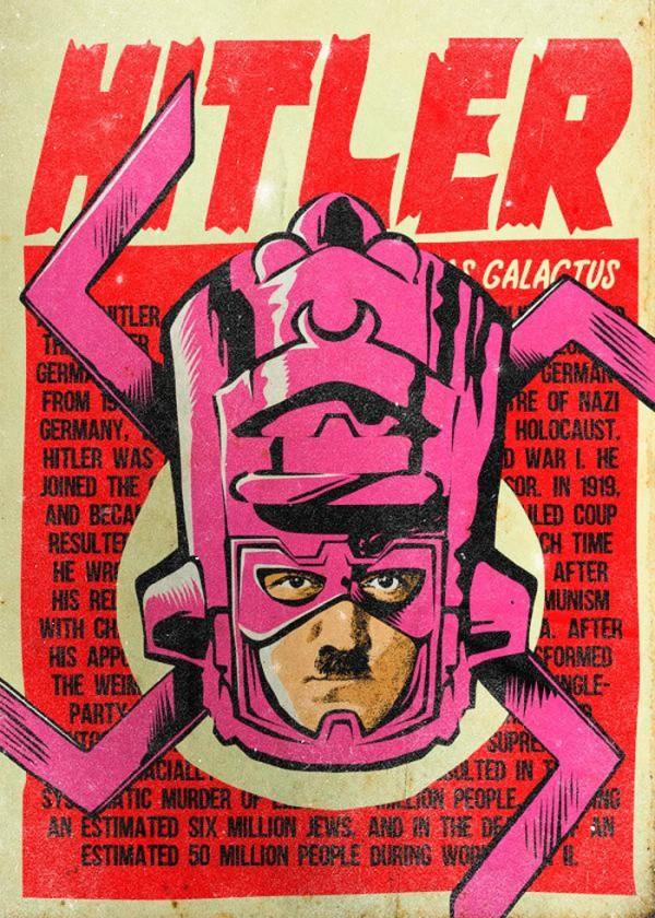 Hitler como Galactus