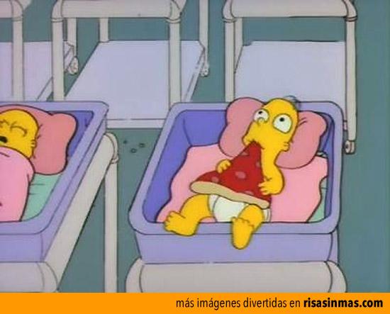 Homer de bebé