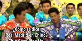 Humor amarillo: Real Madrid en Chino