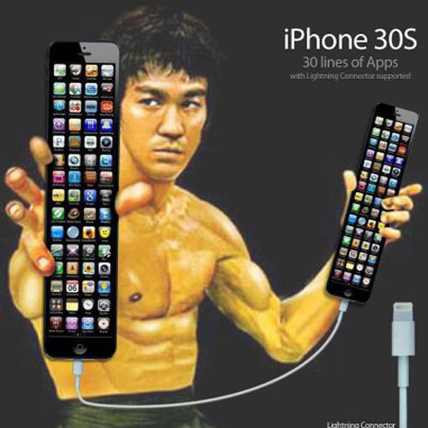iPhone 30S, 30 líneas de apps
