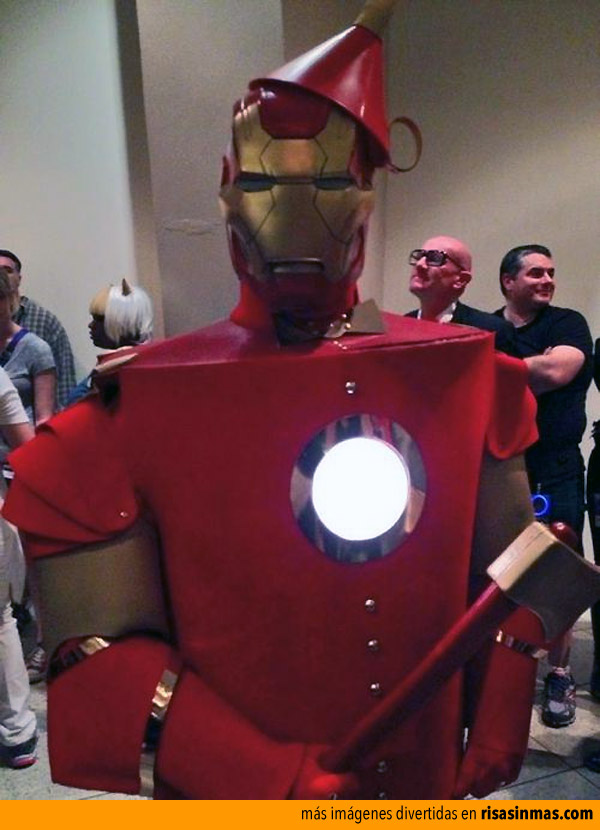 Iron man de Oz