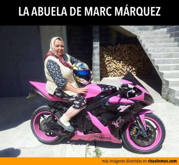 La abuela de Marc Márquez