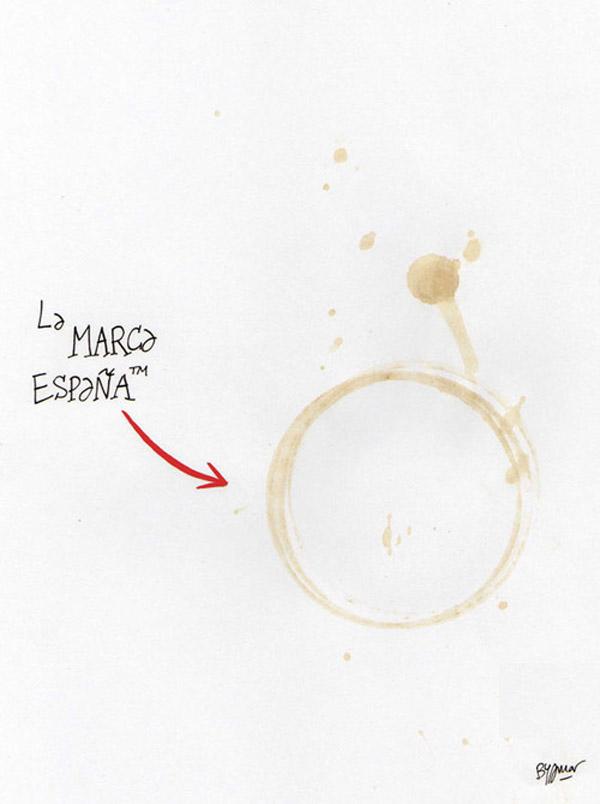 La marca España: Relaxing cup of café con leche