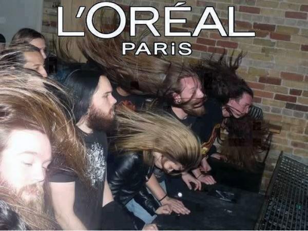 L'Oréal París patrocina el Heavy metal