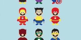 Mario se disfraza de tu superhéroe favorito