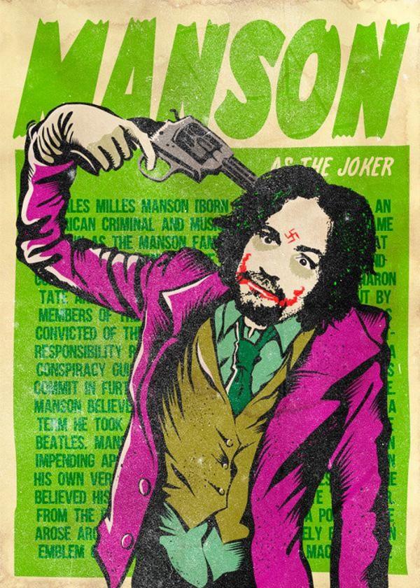 Manson como The Joker