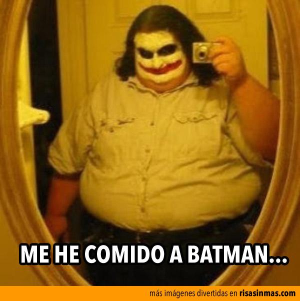 Me he comido a Batman