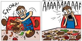 Mega hamburguesa deluxe