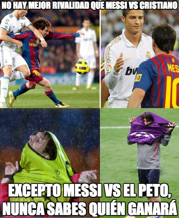 Messi vs Peto