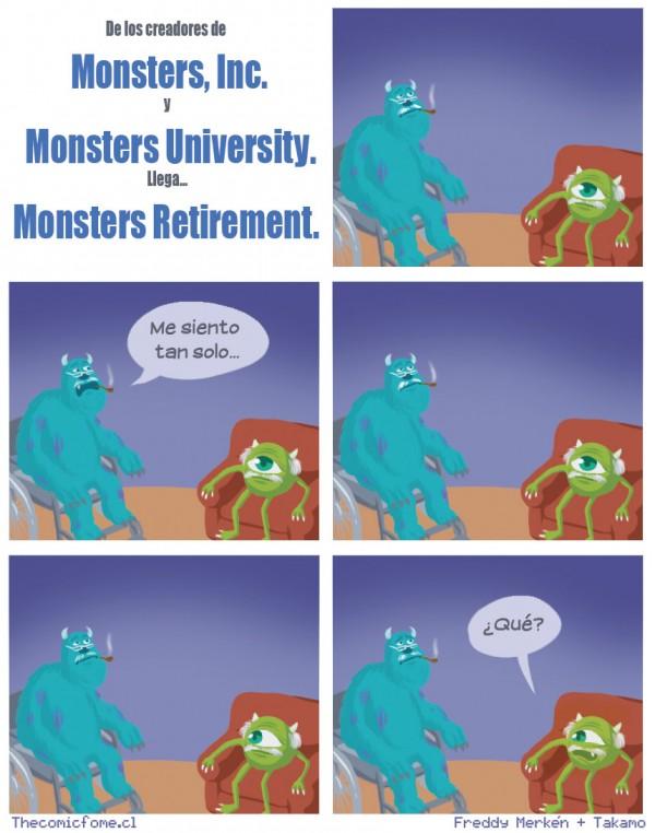 La trilogía de Monstruos S.A.