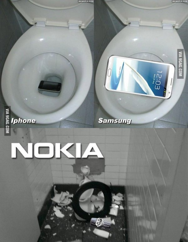 ¿Qué pasa cuando se te cae el móvil al WC?
