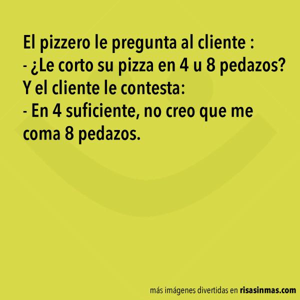 ¿Le corto la pizza?
