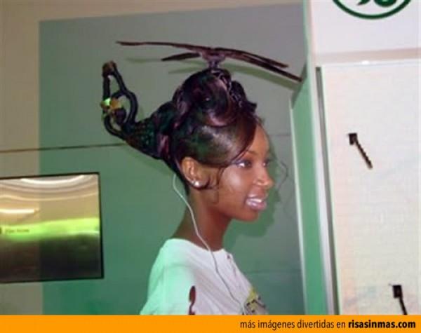 ¡Hazme un peinado volando!