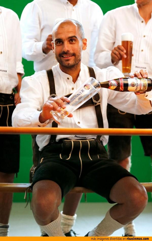 Confirmado: Pep Guardiola ya es alemán