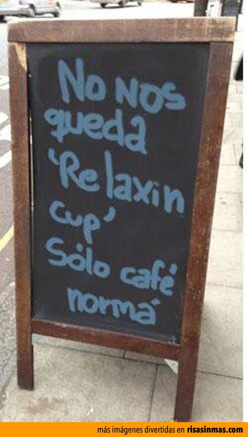 Se agota el Relaxing cup of café con leche