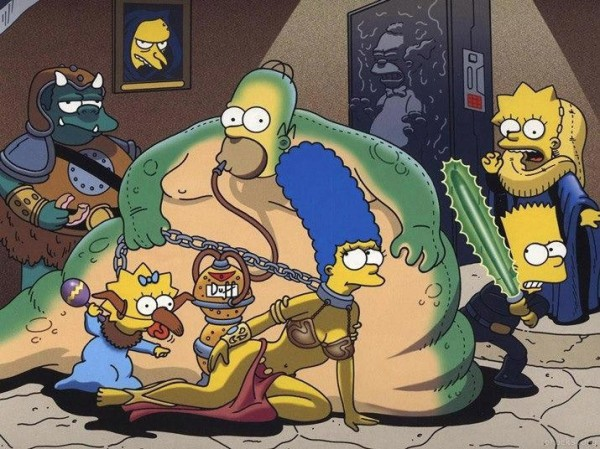 Simpsons Wars