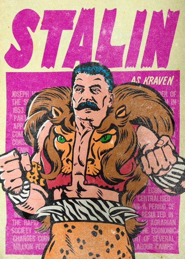 Stalin como Kraven