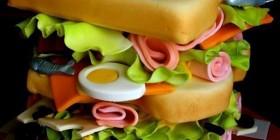 Tartas originales: Tarta sandwich
