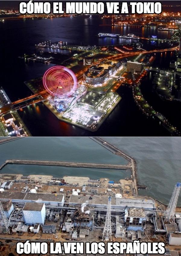 Tokio según los españoles y el mundo