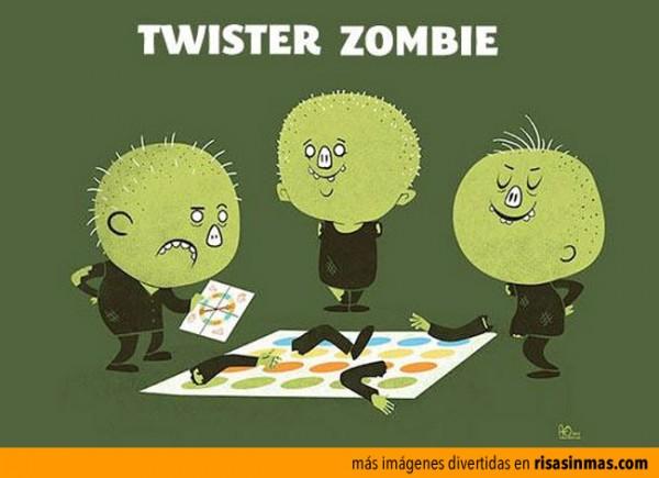 Twister zombie