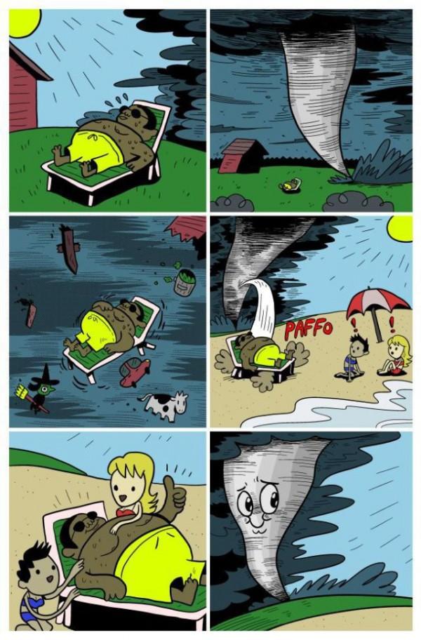 Un buen tornado