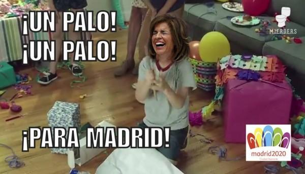 Un palo, un palo... para Madrid