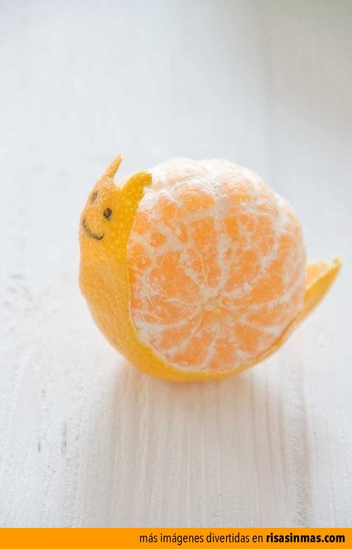 Una mandarina y mucho tiempo libre