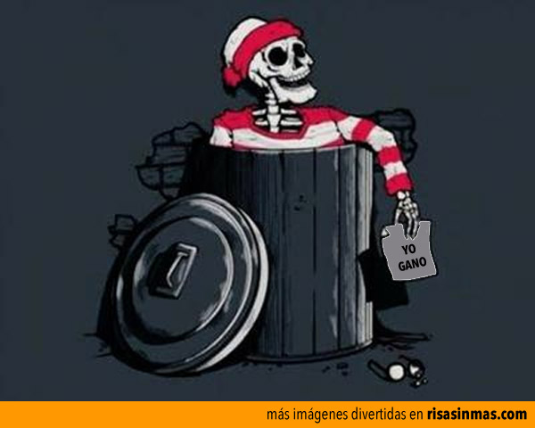 Wally gana, no ha sido encontrado