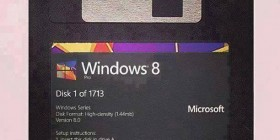 Windows 8 versión disquetes