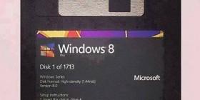 Windows 8 versión disquetes